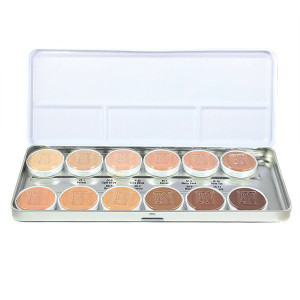 Essential HD Matte Foundation Palette - 12 Color