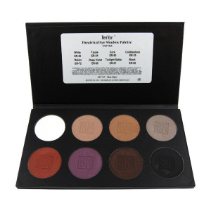 Theatrical Eye Shadow Palette - 8 Color