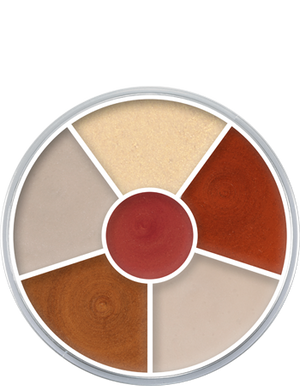 Cream Color Circle Interferenz
