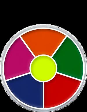 Cream Color Circle UV