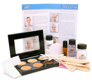 Bald Cap - Premium Character Makeup Kit