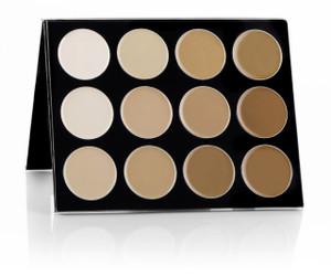 Celebré Pro-HD™ Cream Foundation 12 Color Contour/Highlight Palette