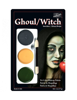 Ghoul/Witch - Tri-Color Character Makeup Palette
