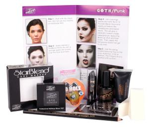 Goth/Punk - Premium Character Makeup Kit