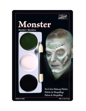 Monster - Tri-Color Character Makeup Palette