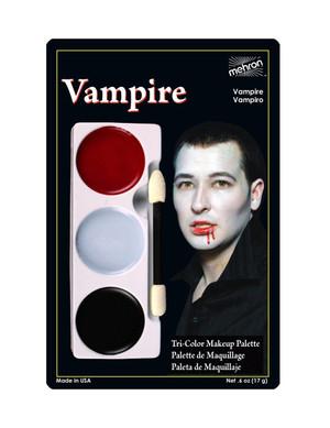 Vampire - Tri-Color Character Makeup Palette