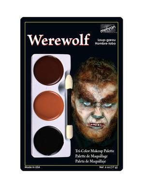 Werewolf - Tri-Color Character Makeup Palette