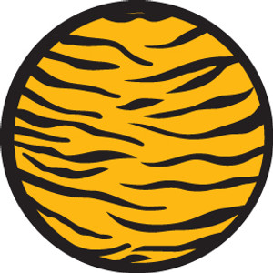 2 Color Tiger Print