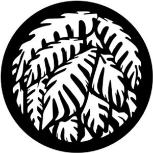 Steel Gobo - Jungle Palms