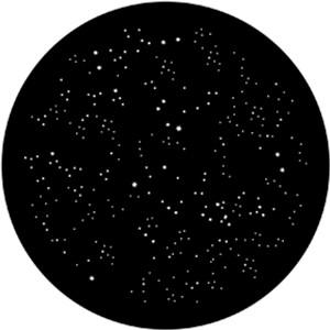 Steel Gobo - Starry Sky