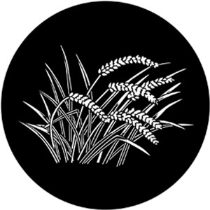 Steel Gobo - Wheat