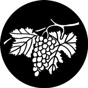 Steel Gobo - Hanging Grapes