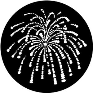 Steel Gobo - Fireworks 1