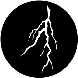 Steel Gobo - Lightning/Branch