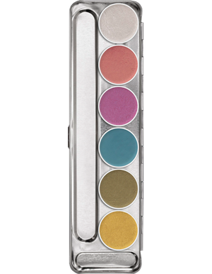 Aquacolor Interferenz Palette - 6 color