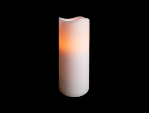 7″ RC Wax Pillar Candle