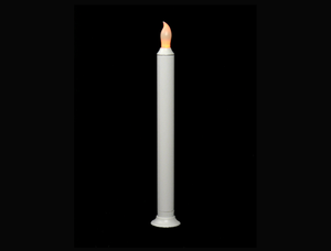 8″ LED Taper Candle