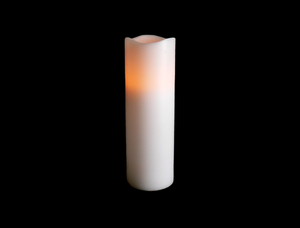 9″ RC Wax Pillar Candle