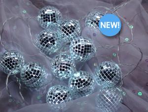 Mirror Ball String Light