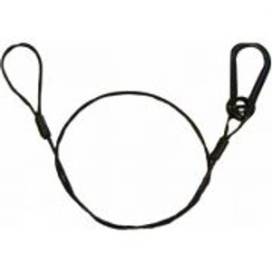"1/8X30"" SAFETY CABLE 5/16"" HOOK"