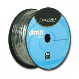 Accu-Cable 3 Pin XLR Cable Spool (300')