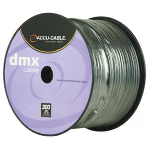 Accu-Cable 5-Pin XLR Cable Spools (300')