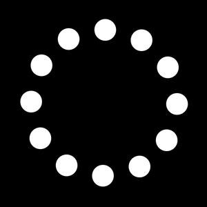 Dots in a Circle- Medium