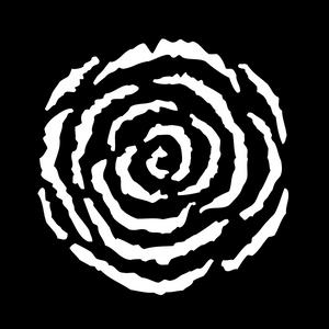 Breakup Rose Swirl- Medium