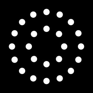 Dots- Double Circle