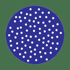 Dots Indigo