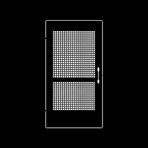 Door Plain Screen
