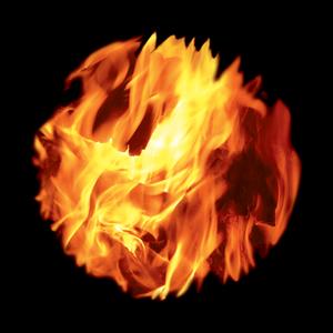 Bright Fire - Closeup