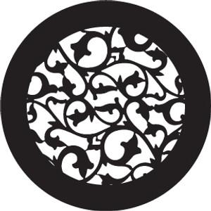 Steel Gobo - Iron Scroll