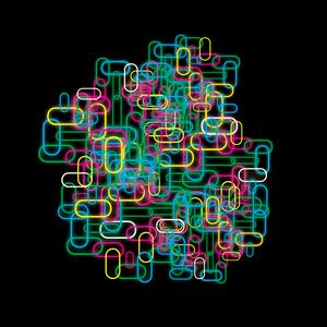 Neon Paper Clips