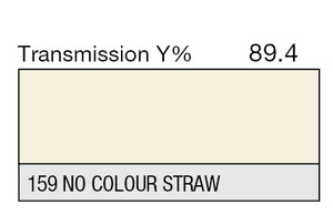 159 No Colour Straw