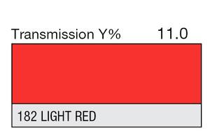 182 Light Red