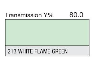 213 White Flame Green