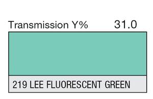 219 LEE Fluorescent Green