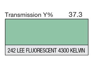 242 LEE Fluorescent 4300 Kelvin