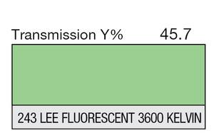 243 LEE Fluorescent 3600 Kelvin