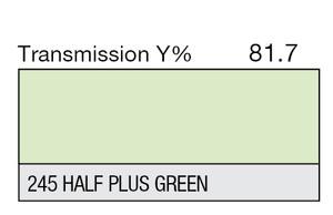 245 Half Plus Green