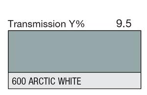 600 Arctic White