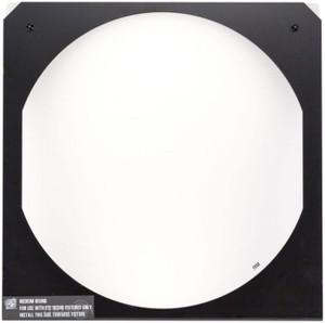 D22 Wide Oval Diffuser in frame, Black