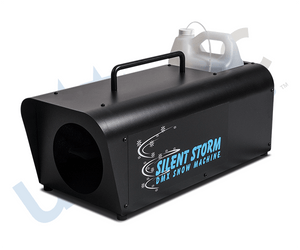 Silent Storm DMX Snow Machine (w/ Variable Flow Remote)