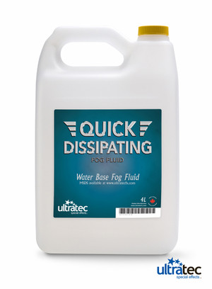 Quick Dissipating Fog Fluid