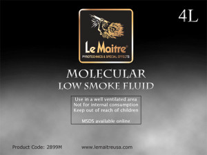 Molecular Low Smoke/Fog Fluid