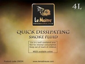 Quick Dissipating Smoke/Fog Fluid