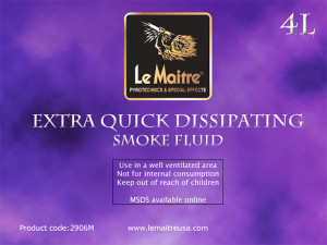 Extra Quick Dissipating Smoke/Fog Fluid