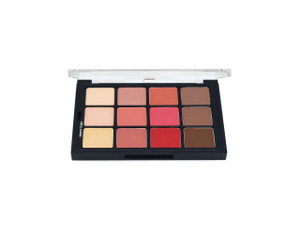 Studio Color Blush and Contour Creme Palette - 12 Color