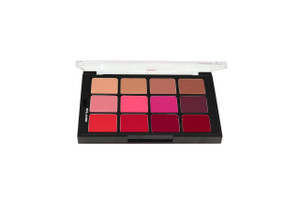Studio Color All-For-One Lip Color Creme Palette - 12 Color